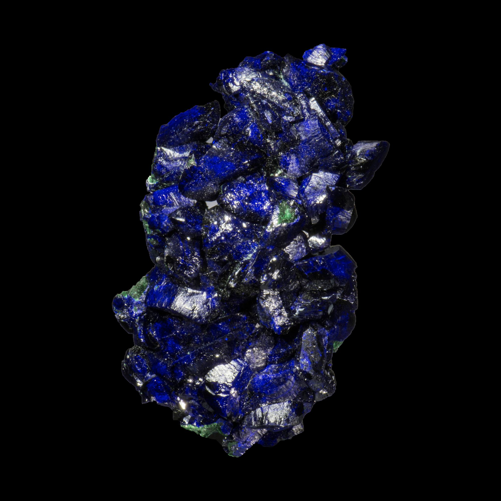 Azurite with Malachite from Mexico, Sonora Milpillas Mine