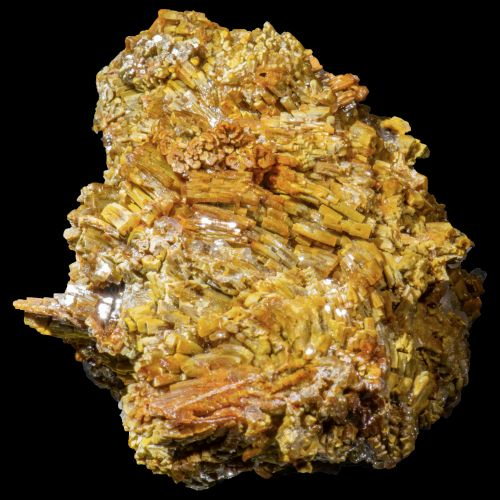 Vanadinite and Calcite San Carlos MIne Mexico